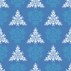 Seamless heraldic pastel pattern with blazon
