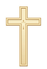 Golden cross.