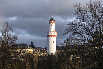 Castle Bad Homburg and watchtower  in Hessen, Germany