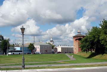 Kremlin in Kolomna, Russia.