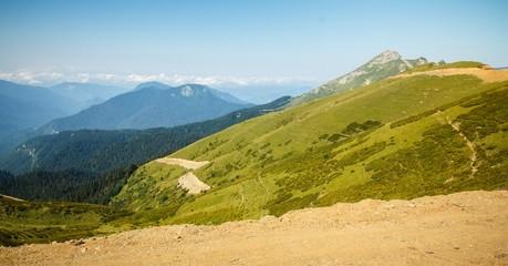 landscapes Sochi