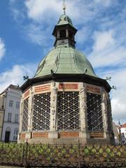 Wismar -  Renaissancepavillion der Wasserkunst