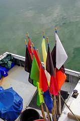 bateau de pêche-filets