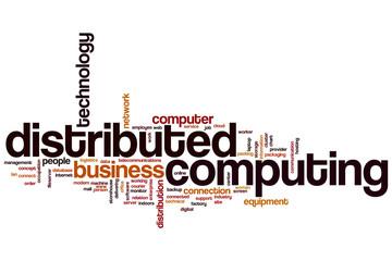 Distributed computing word cloud