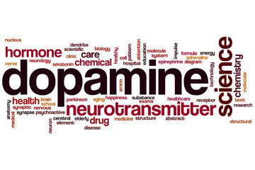 Dopamine word cloud