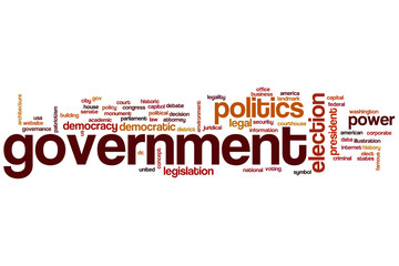 Government word cloud
