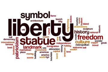 Liberty word cloud