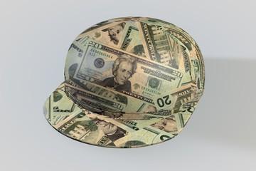 Money Ball Baseball Cap