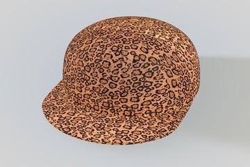 Leopard Skin Baseball Cap