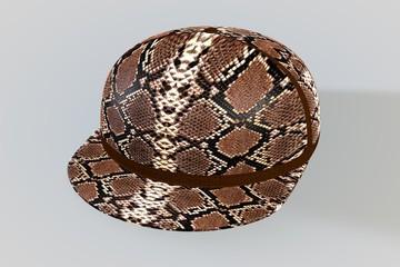 Snake Skin Baseball Cap
