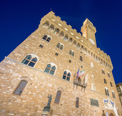 Firenze. Palazzo Vecchio in Florence, Tuscany, Italy