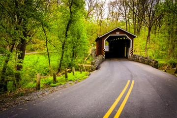 Kurtz's Mill Covered Bridge in Lancaster County Central Park, Pe