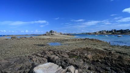 Beautiful Brittany seascape