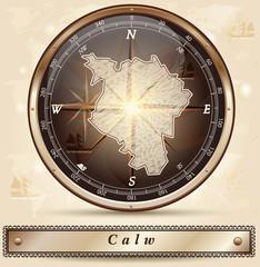Karte von Calw