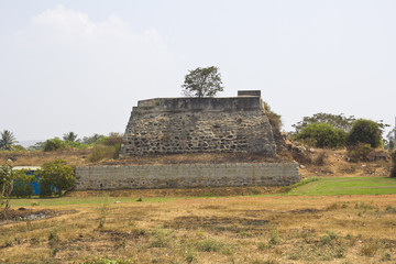 Ruined fort of Tipu Sultan