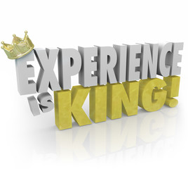 Experience is King Importance of Expertise Knowledge Skills Educ