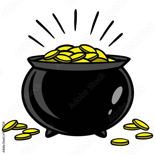 Pot Of Gold - 74971334