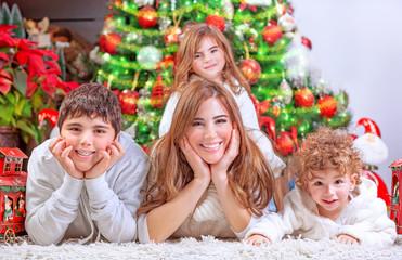 Happy Christmas celebration