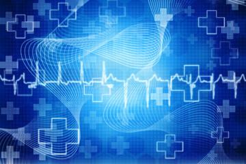Medical Ecg background
