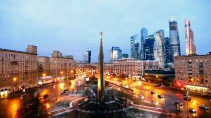 Area Dorogomilovskaya Zastava  Moscow, Kutuzov Avenue