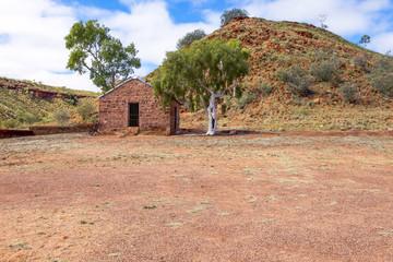 Old telegraph station at Barrow Creek, Australia.