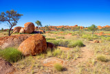 Devils Marbles in the Northern Territory, Australia.