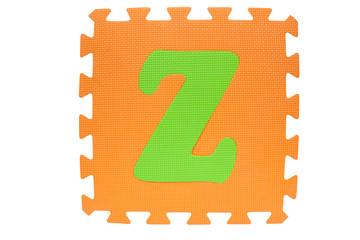 Z alphabet toy