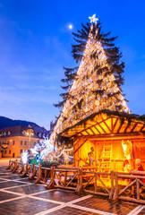 Christmas Tree, Brasov, Romania