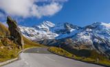 high alpine road in Austria - 74982320