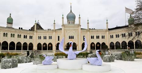 Oriental palace in Tivoli Gardens, Copenhagen