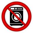 No washing machine icon