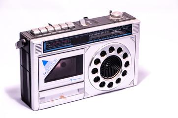 Old Retro Vintage 70's Radio