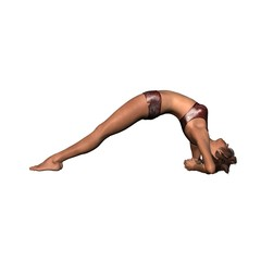 Yoga Upward Facing - Pose