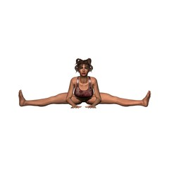 Yoga Wide Angle Bend - Pose