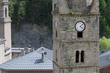 église de Lanslebourg dans les alpes