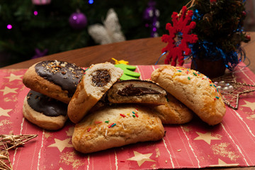 petrali, biscotti ripieni