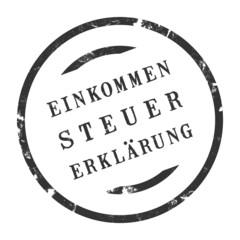 sk214 - StempelGrafik Rund - Einkommensteuererklärung - g2702