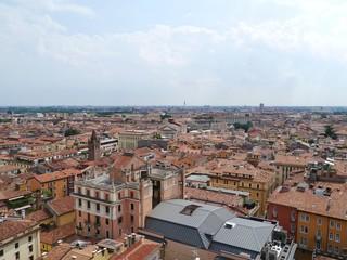 Overlook over the city Verona in Italy