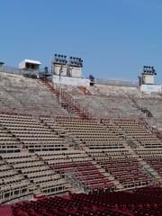 The Verona Arena in Verona in Italy