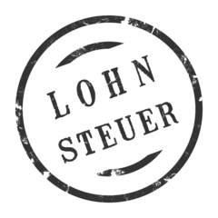 sk216 - StempelGrafik Rund - Lohnsteuer - g2704
