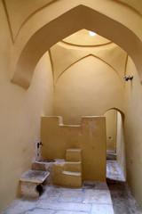 Interior of ancient Turkish baths on Kos Island in Greece