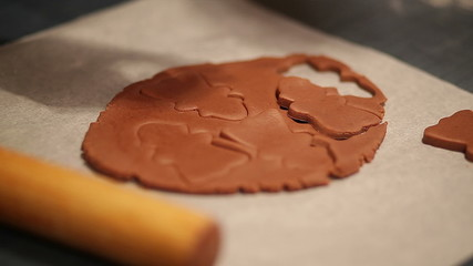 making gingerbread