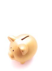 豚・貯金箱・預金