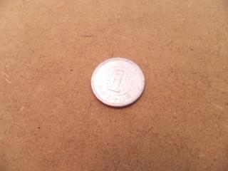 1円・通貨・硬貨・日本円