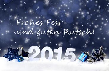 2015 und Weihnachtswünsche