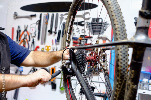 Papiers peints Cyclisme Bike workshop