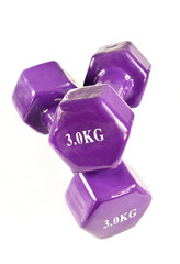 Dumbbell for fitness, muscle building
