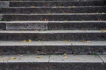 staircase rock mortar ancient