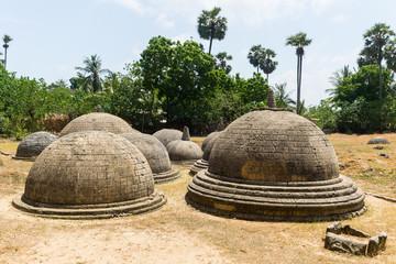 Ancient mysterious stupas