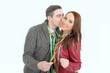 Kuss zum Jahreswechsel